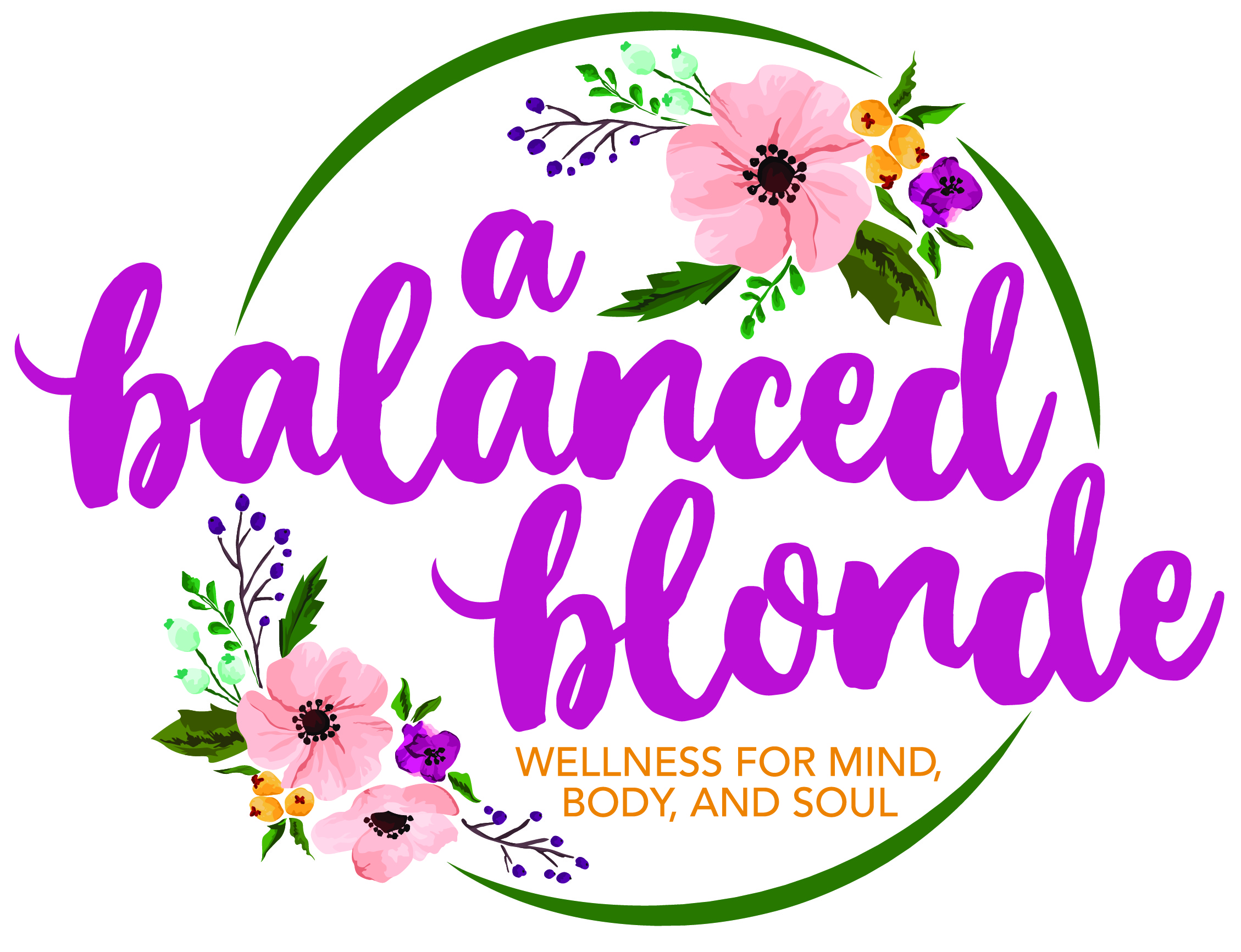 a balanced blonde